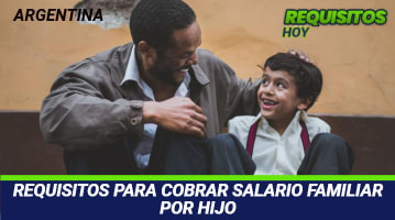 Requisitos para cobrar salario familiar por hijo