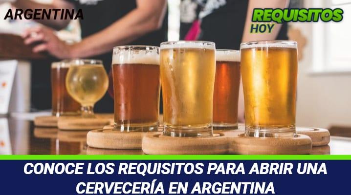 Requisitos para abrir una cervecería Argentina