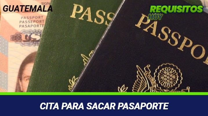 SACAR PASAORTE GUATEMAÑA