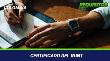 Certificado RUNT