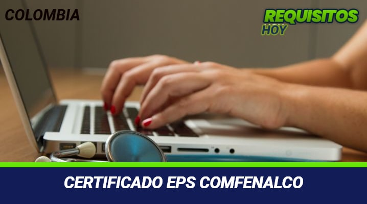 Certificado EPS Comfenalco