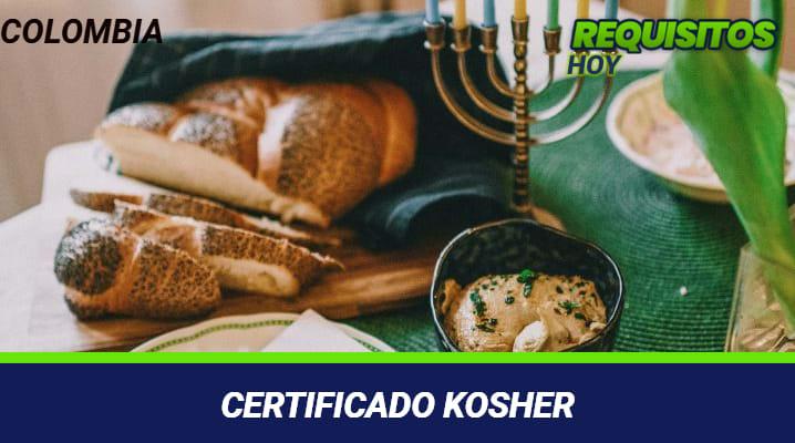 Certificado kosher