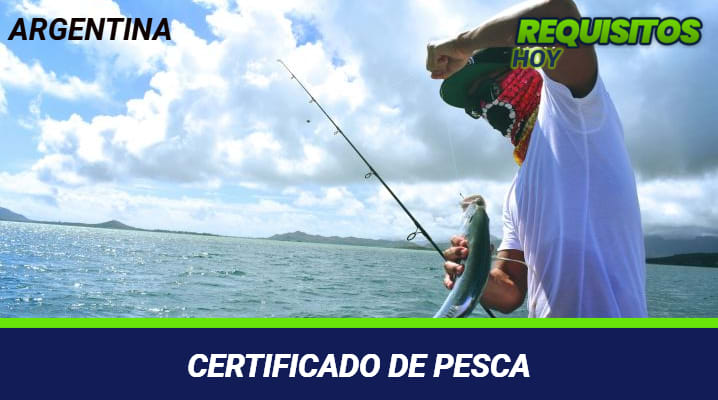 Certificado de pesca
