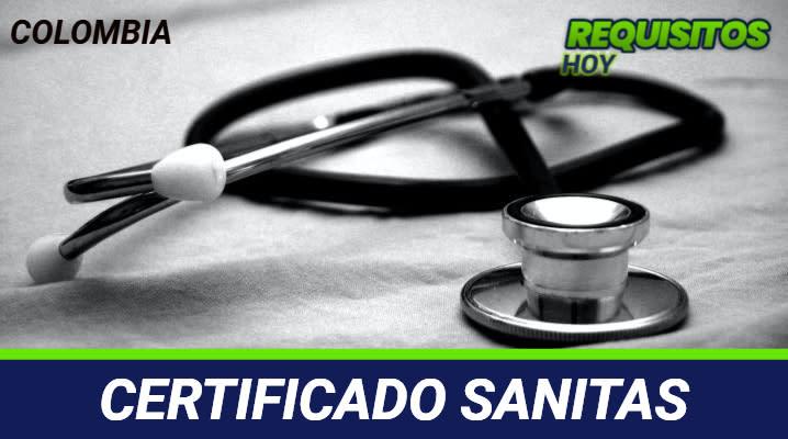 Certificado Sanitas