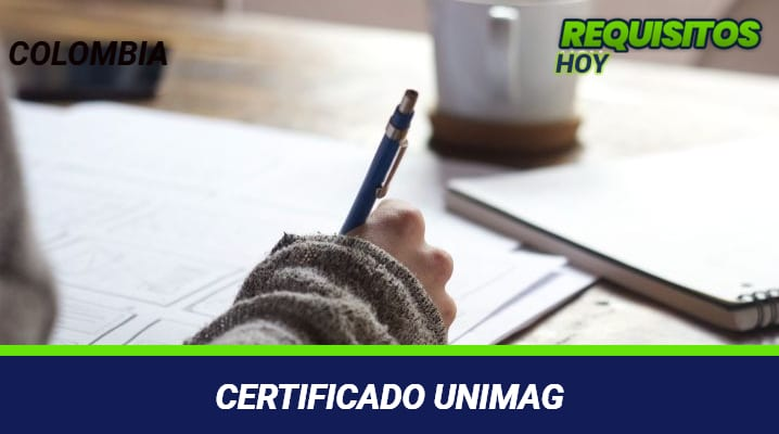 Certificado unimag