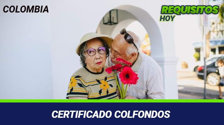 Certificado Colfondos