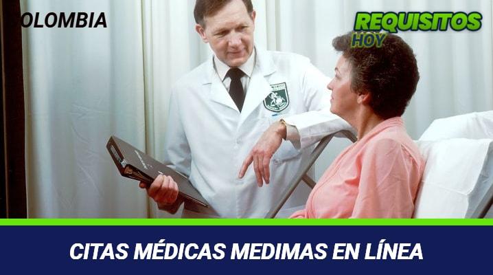 Citas médicas Medimás en línea