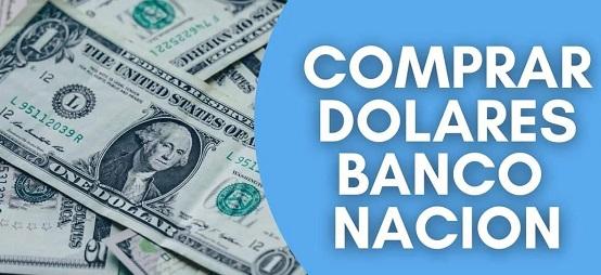 Comprar Dólares En Banco Nación