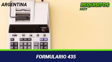 Formulario 435