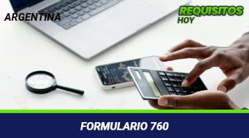 Formulario 760