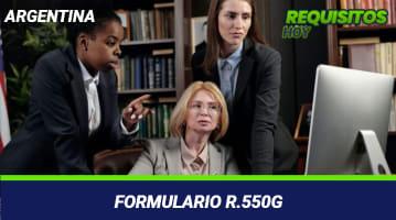 Formulario R.550G