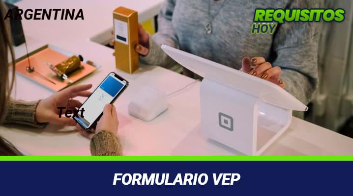 Formulario VEP