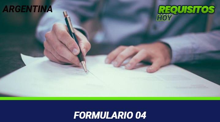 Formulario 04