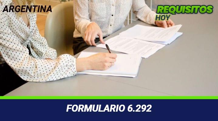 Formulario 6.292