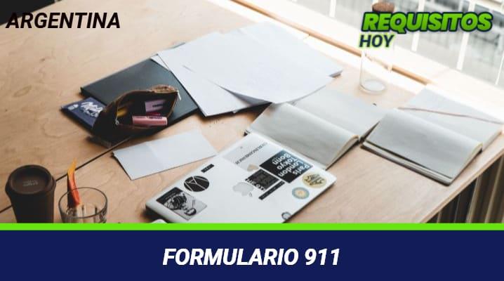 Formulario 911