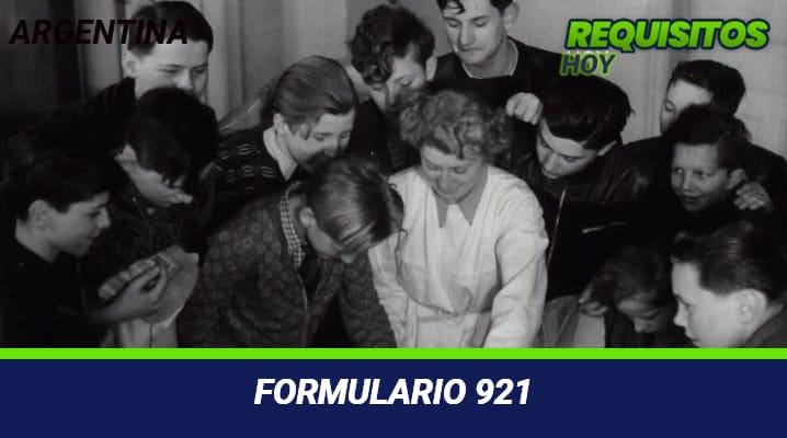 Formulario 921