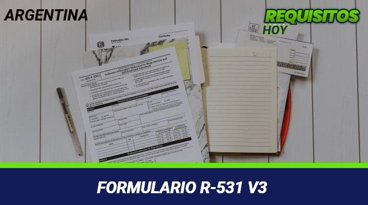 Formulario R-531 v3
