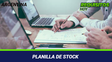 Planilla de Stock