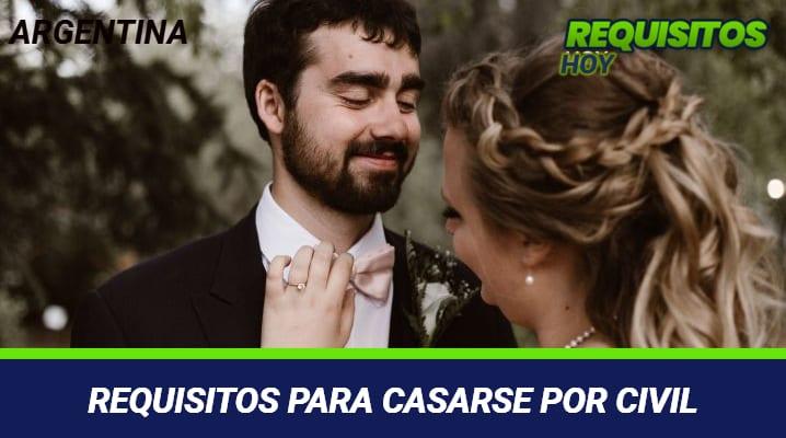 Requisitos para casarse por civil