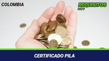 Certificado PILA