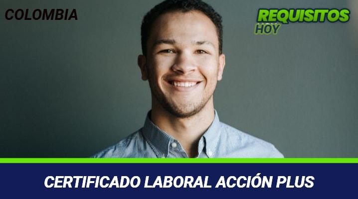 Certificado laboral acción plus