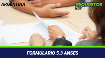 Formulario 5.3 ANSES