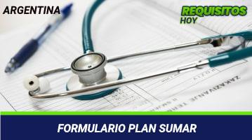 Formulario Plan Sumar