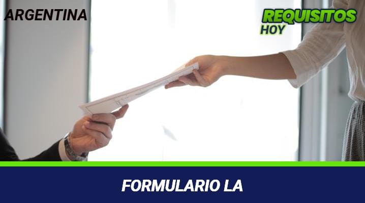 Formulario LA