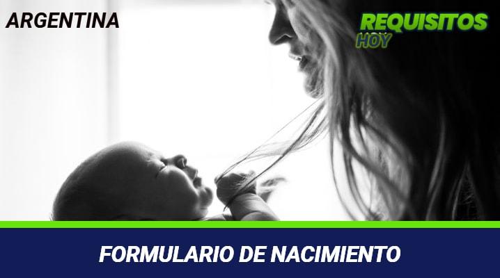Formulario de Nacimiento
